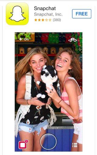 Snapchat App Store Image